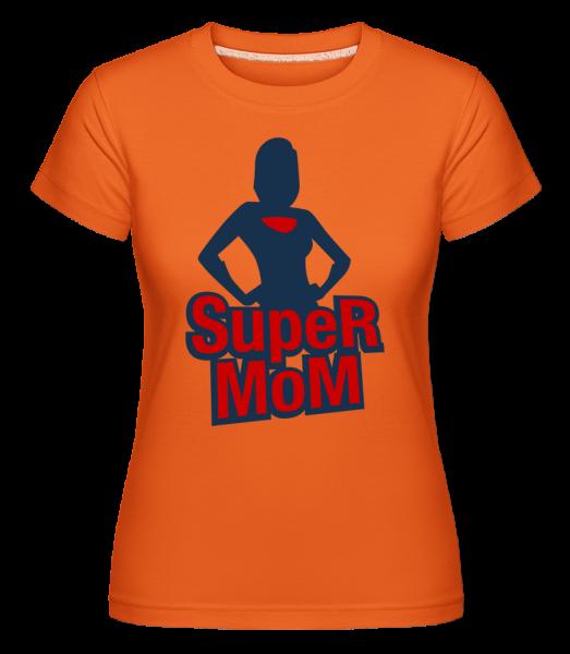 Super Mom Icon - T-shirt Shirtinator femme - Orange - Vorn