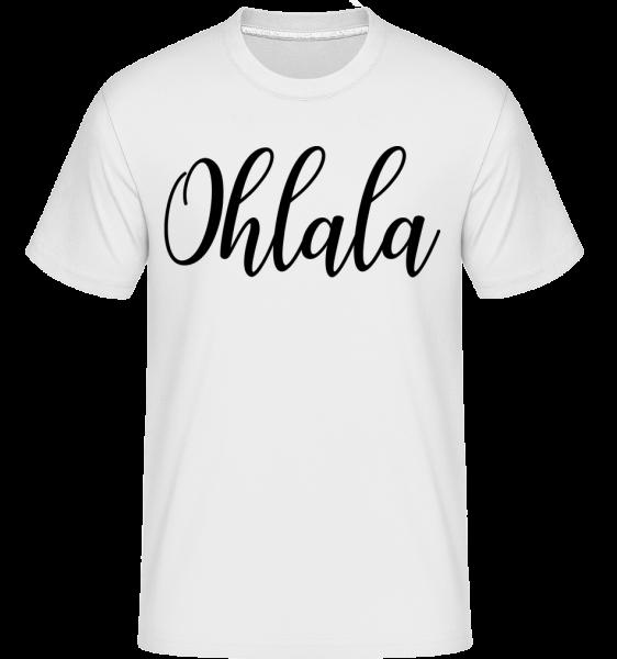 Ohlala -  T-Shirt Shirtinator homme - Blanc - Vorn