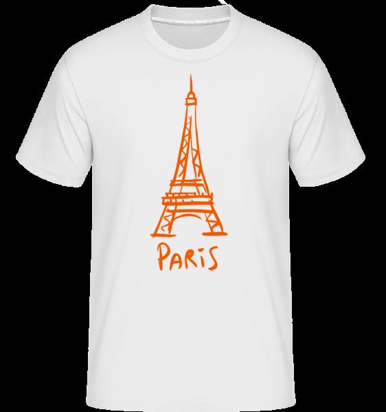 Signe De Paris - T-Shirt Shirtinator homme - Blanc - Vorn