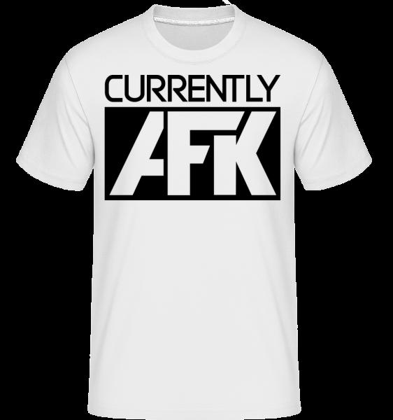 Currently AFK - T-Shirt Shirtinator homme - Blanc - Vorn