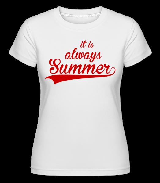 Always Summer Icon - T-shirt Shirtinator femme - Blanc - Vorn