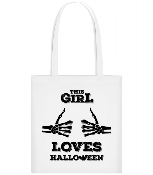 This Girl Loves Halloween - Sac tote - Blanc - Vorn