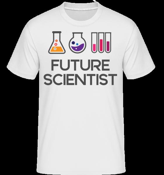 Future Scientist - T-Shirt Shirtinator homme - Blanc - Vorn