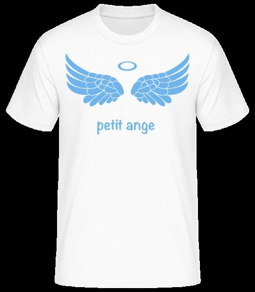 Petit Ange Bleu - T-shirt standard homme - Blanc - Vorn