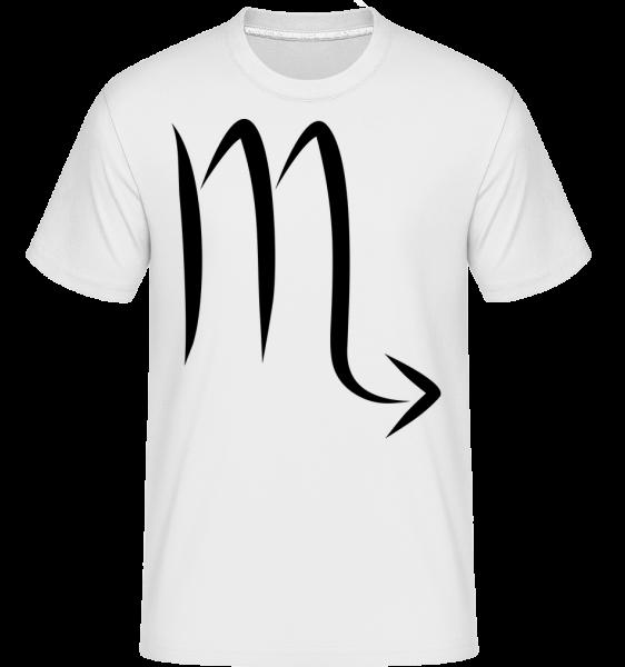 Signe Scorpion - T-Shirt Shirtinator homme - Blanc - Vorn