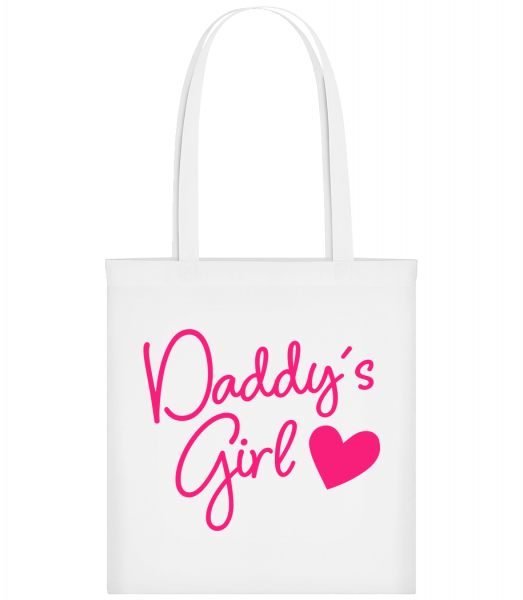 Daddy's Girl - Sac tote - Blanc - Vorn