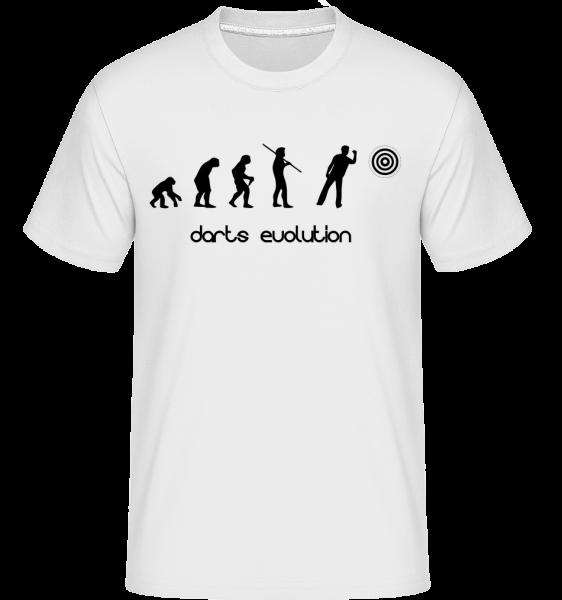 Darts Evolution - T-Shirt Shirtinator homme - Blanc - Vorn