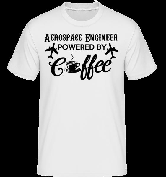 Aerospace Engineer - T-Shirt Shirtinator homme - Blanc - Vorn