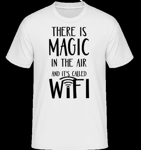 Magic In The Air - T-Shirt Shirtinator homme - Blanc - Vorn