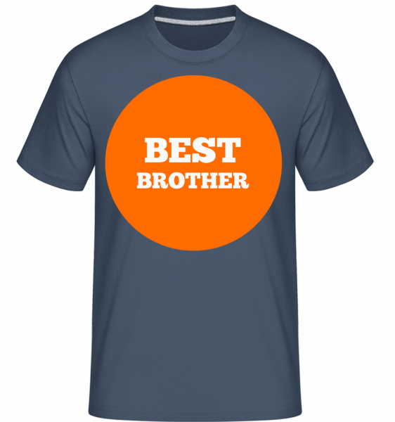Best Brother -  T-Shirt Shirtinator homme -  - Vorn