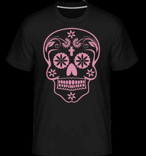 Día de los Muertos Godille - T-Shirt Shirtinator homme - Noir - Vorn