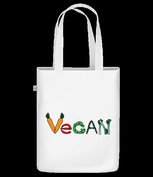 Vegan Comic - Sac en toile bio Earth Positive - Blanc - Vorn