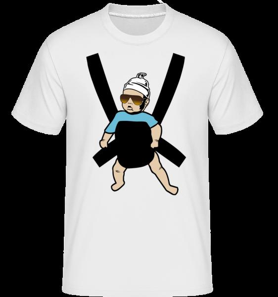 Hangover Baby - T-Shirt Shirtinator homme - Blanc - Vorn