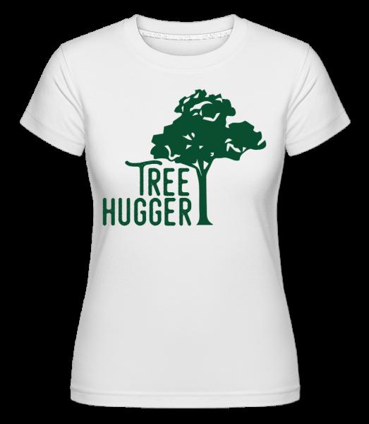 Tree Hugger - T-shirt Shirtinator femme - Blanc - Vorn