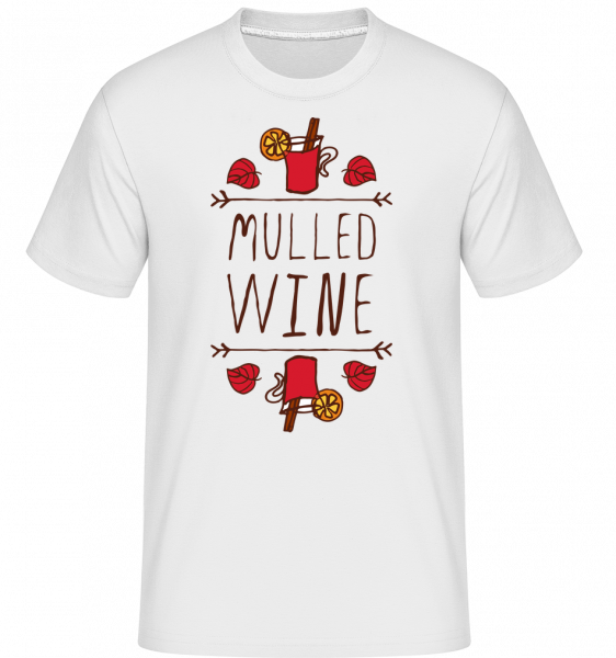 Mulled Wine Sign - T-Shirt Shirtinator homme - Blanc - Vorn