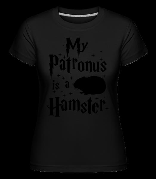 My Patronus Is A Hamster -  T-shirt Shirtinator femme - Noir - Vorn