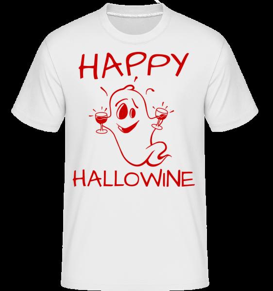 Happy Halloween Ghost - T-Shirt Shirtinator homme - Blanc - Vorn