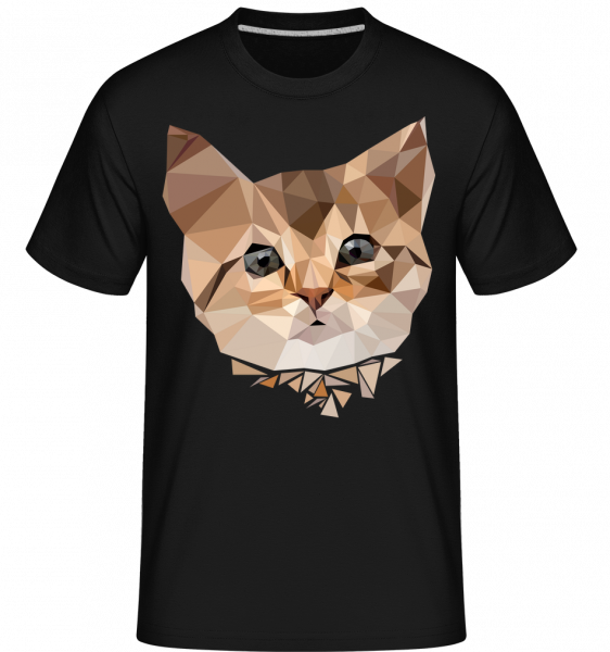 Polygon Chat - T-Shirt Shirtinator homme - Noir - Vorn