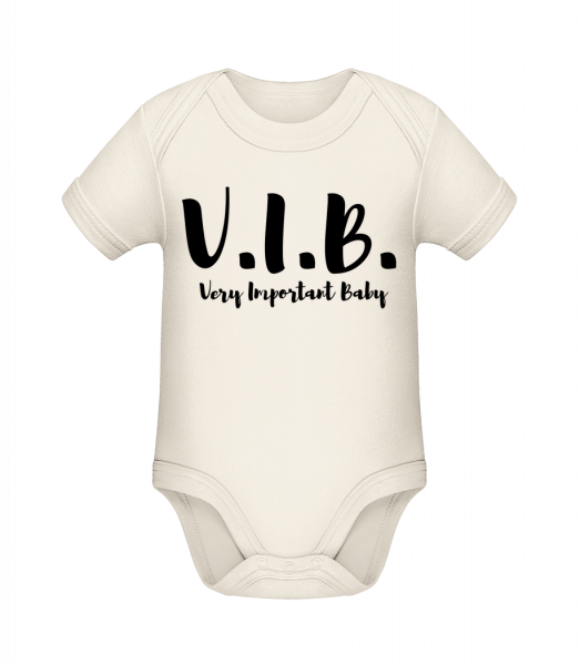 Very Important Baby - Body manches courtes bio - 12-18 mois - Vorn