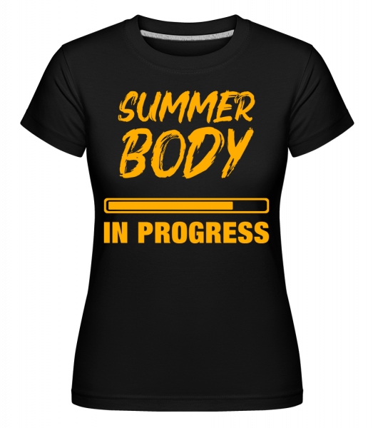 Summer Body in Progress - T-shirt Shirtinator femme - Noir - Vorn