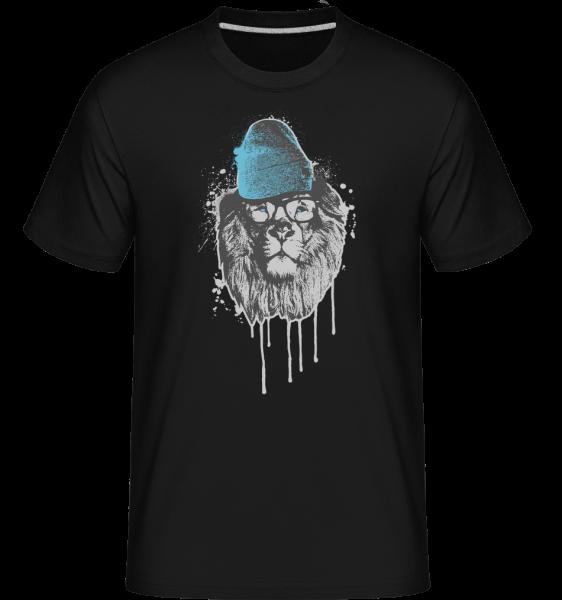Lion with Head - T-Shirt Shirtinator homme - Noir - Vorn