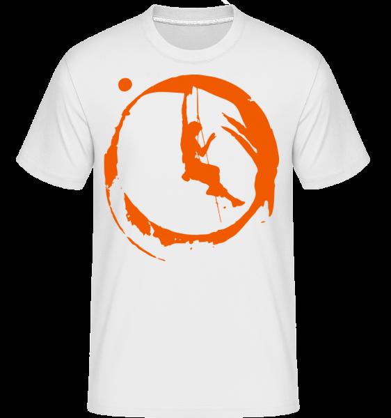 Climbing - T-Shirt Shirtinator homme - Blanc - Vorn
