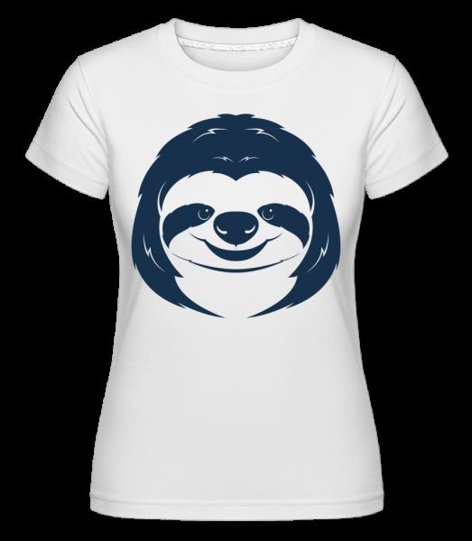Visage Doux Indolence - T-shirt Shirtinator femme - Blanc - Vorn
