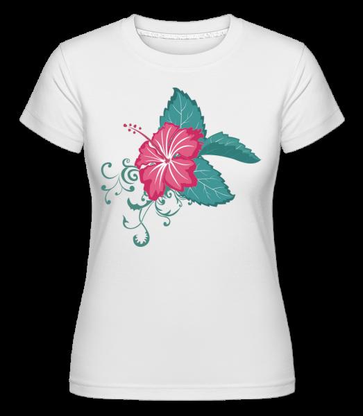 Flower Comic - T-shirt Shirtinator femme - Blanc - Vorn