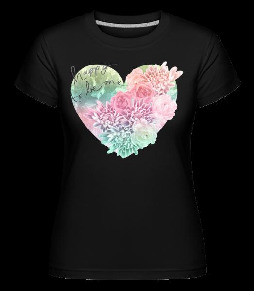 Happy To Be Me - T-shirt Shirtinator femme - Noir - Vorn