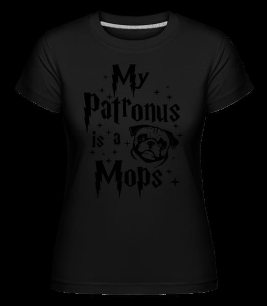 My Patronus Is A Mops -  T-shirt Shirtinator femme - Noir - Vorn