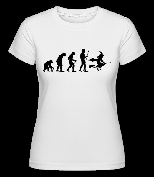 Évolution D'Halloween - T-shirt Shirtinator femme - Blanc - Vorn