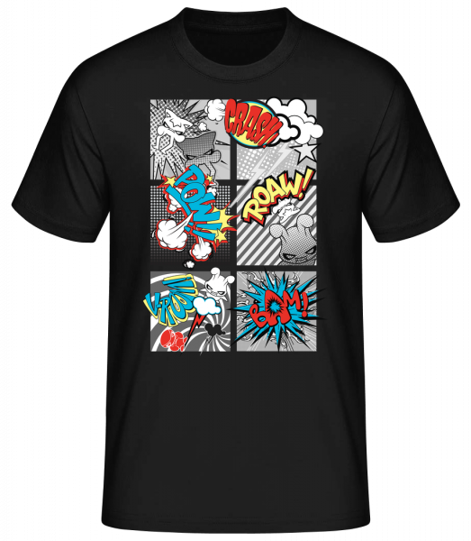 Gobelins Bande Dessinée - T-shirt standard homme - Noir - Vorn