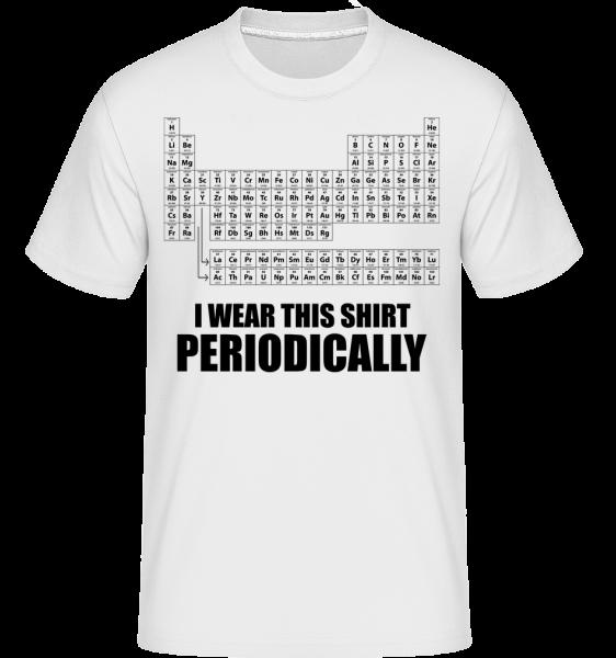 I Wear It Periodically - T-Shirt Shirtinator homme - Blanc - Vorn