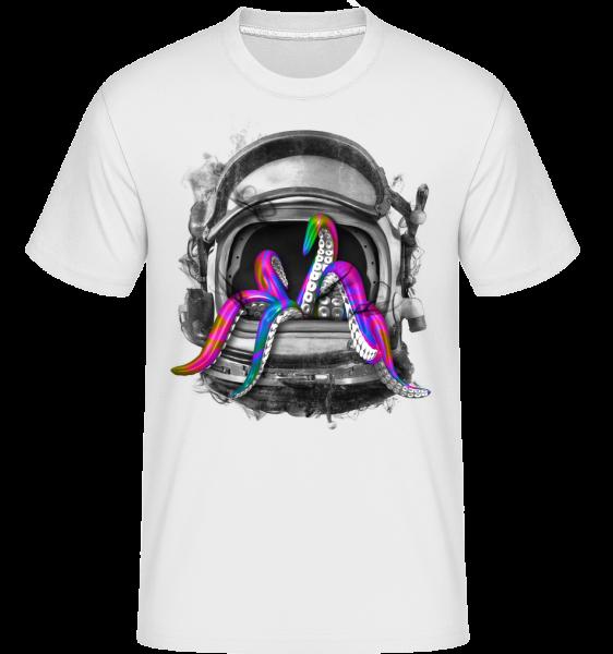 Casque De Calmar - T-Shirt Shirtinator homme - Blanc - Vorn