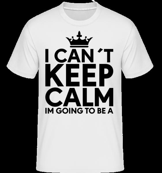 I Can't Keep Calm - T-Shirt Shirtinator homme - Blanc - Vorn