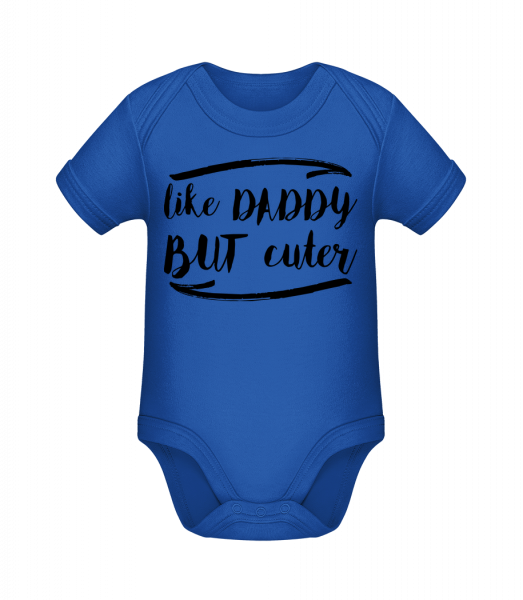Like Daddy But Cuter - Body manches courtes bio - 12-18 mois - Vorn