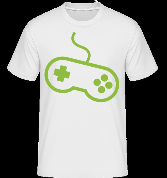 Console De Jeu De Contrôleur - T-Shirt Shirtinator homme - Blanc - Vorn