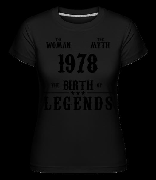 The Myth Woman 1968 - T-shirt Shirtinator femme - Noir - Vorn