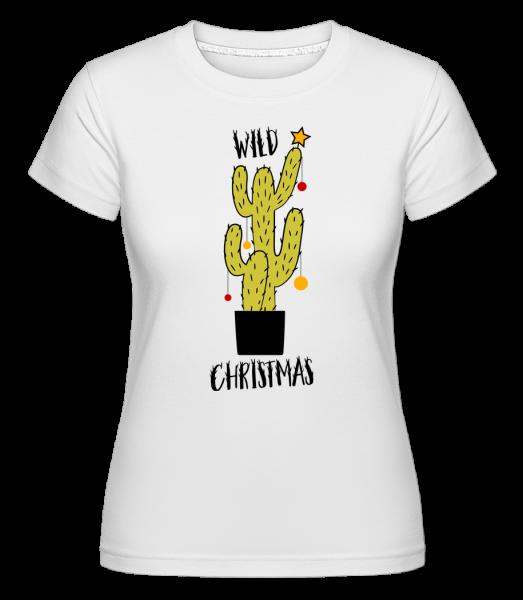 Wild Christmas - T-shirt Shirtinator femme - Blanc - Vorn