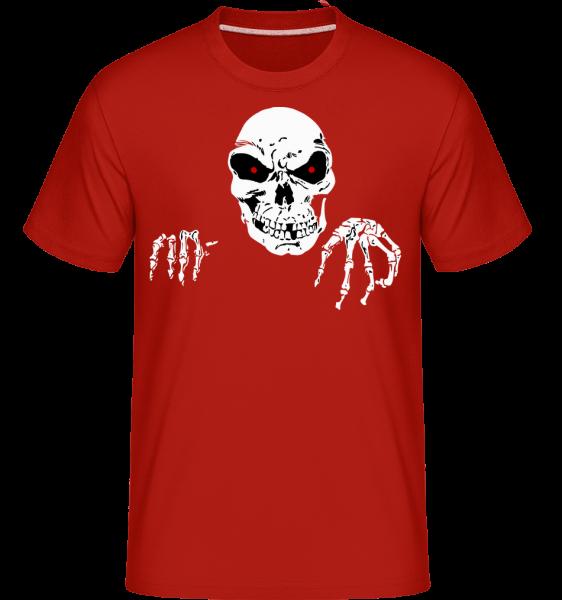 Mort Terrifiante -  T-Shirt Shirtinator homme - Rouge - Vorn
