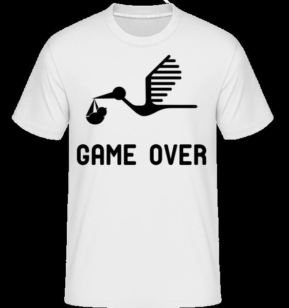 Game Over - Bébé Annonce - T-Shirt Shirtinator homme - Blanc - Vorn