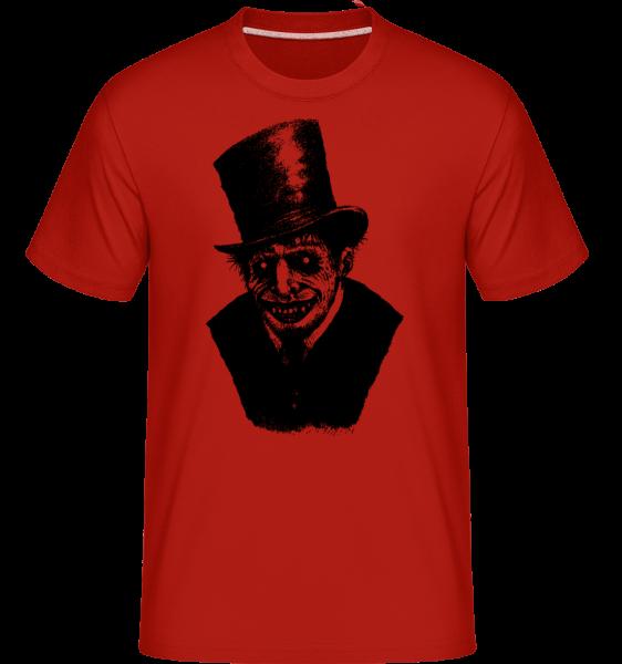 Zombie Gentleman -  T-Shirt Shirtinator homme - Rouge - Vorn