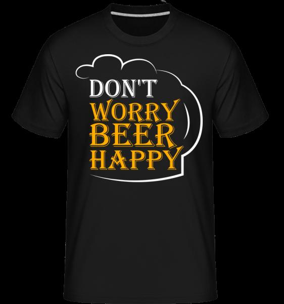 Beer Happy - T-Shirt Shirtinator homme - Noir - Vorn