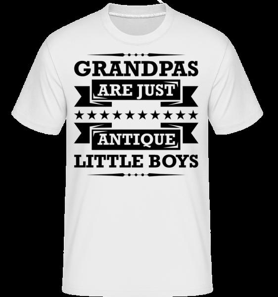 Grandpas Antique - T-Shirt Shirtinator homme - Blanc - Vorn