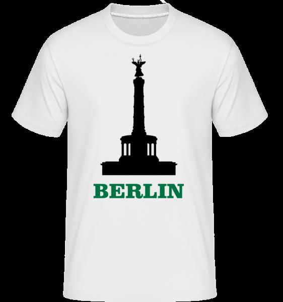 Berlin Skyline - T-Shirt Shirtinator homme - Blanc - Vorn
