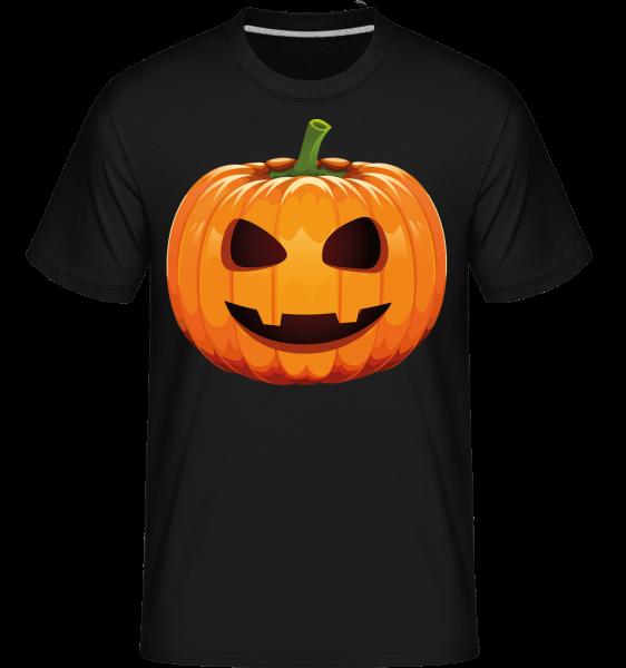 Citrouille Rillante -  T-Shirt Shirtinator homme - Noir - Vorn