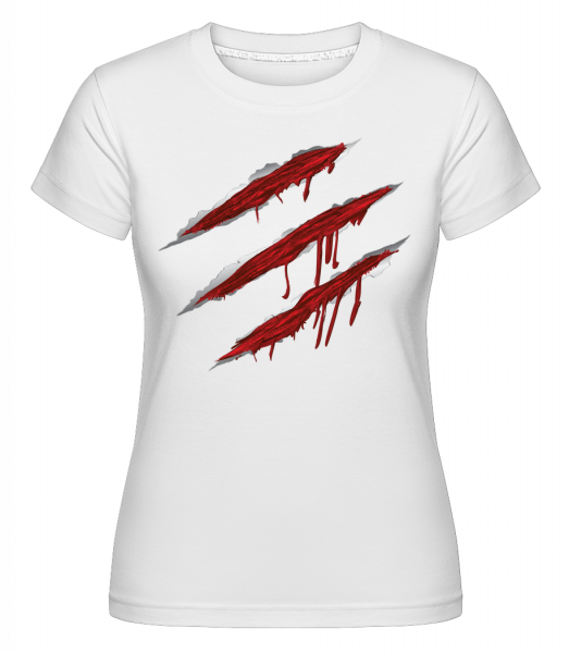 Égratignures Sanglantes - T-shirt Shirtinator femme - Blanc - Vorn